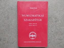 Saltzer Ernő: Numizmatikai szakszótár angol-magyar-német (id43620)