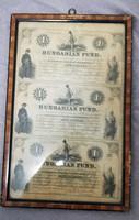 Kossuth 1 dollár 1852 ritkán található A B C íven