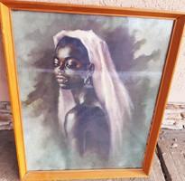 Urszényiné Breznay Ilona: Afrikai nő