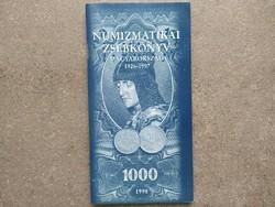 Numizmatikai zsebkönyv Magyarország 1926-1997 (id43618)