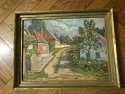 Kostaly István 43x31 neves festő eredeti képe