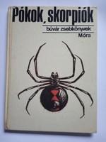Búvár zsebkönyvek / Pókok, skorpiók könyv !