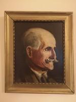 Havalda Endre 1928-as Portréja