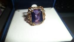 Pénzverdés 14K arany gyűrű