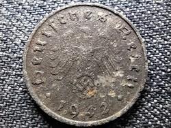 Németország Horogkeresztes 10 birodalmi pfennig 1942 F (id41862)