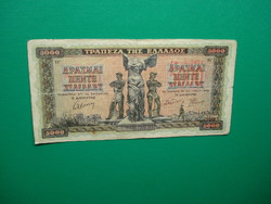 Görögország 5000 drachma 1942