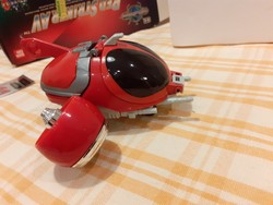 J - Red Striker AV Saban's Beetle Borgs 1996 BANDAI ÚJ- dobozában piros bogár