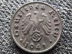 Németország Horogkeresztes 1 birodalmi pfennig 1941 F (id41884)