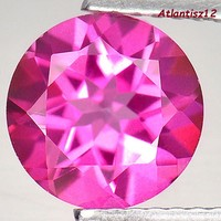 Genuine 100% natural magenta pink topaz gemstone 2.14ct (if) !!! Value: HUF 44,900!