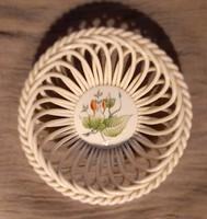 Herendi porcelán áttört kosár