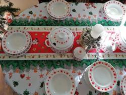 Alföldi étkészlet 14 személyes, pót tányérokkal