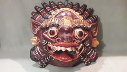 Régi indiai Mahakala maszk