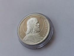 Szt István ezüst 5 pengő,gyönyörű darab kapszulában,verdefényes