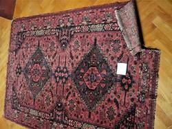 Bordó régi  perzsa szőnyeg 140x180 cm