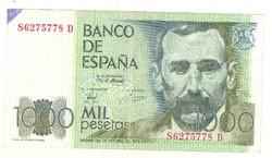 1000 peseta 1979 Spanyolország 1.