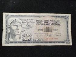Jugoszlávia 100 Dínár