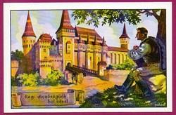 E - 0027 - - - Irredenta (reprint) képeslap - Vajdahunyad