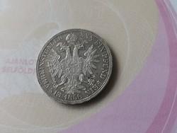 1858 Ferenc József Vereinsthaler 18,5 gramm-Ritka,gyűjteménybe való állapotban