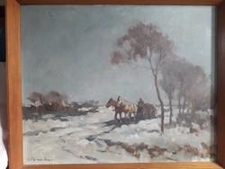 Cs. Farkas Lőrinc festmény