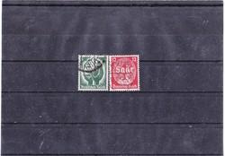 Német birodalom emlékbélyegek  1934