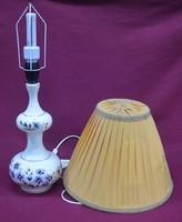 Zsolnay búzavirág mintás lámpa
