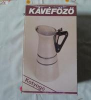 Retro kávéfőző-doboz, Szarvasi kétszemélyes kotyogó doboza