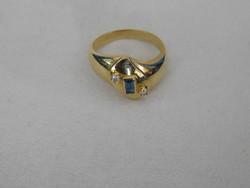 Arany 18 k Női gyűrű   6.3 gr