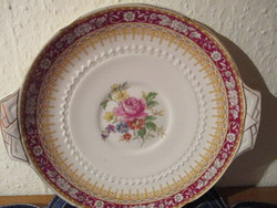 Angol virágmintás porcelán tálka