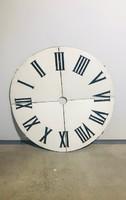 Bontott, eredeti, nagy méretű, zománc óra számlap - M257