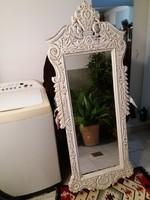 Gyönyörű nagyméretű kézi faragású fali tükör eladó!