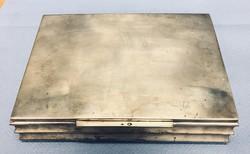 Ezüst doboz Dianás fémjel 315 g tiszta ezüst súly