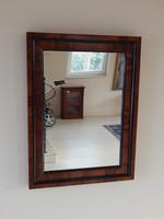 Biedrmeier tükör,,80 x 60 cm.