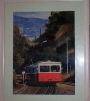 Dobroszláv József: Fogaskerekű vasút