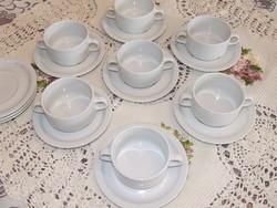 Retro leveses csésze tányérral