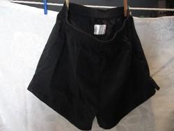 Fekete kamasz Senior School torna nadrág short