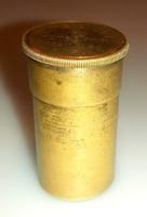 Antik C. Reichert Wien réz mikroszkóp objektív
