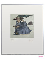 """""""Die here' cassanda """"c. Numbered wayne anderson lithography. Rare, collectible pieces."""
