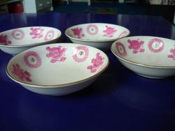 4 db kínai porcelán tálka