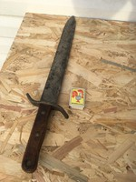 1 vh -s utász kard - utászkard - bajonett - óriási kés - 1915 Osztrák-Magyar - szablya