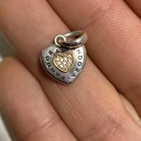 Pandora EREDETI ikonikus függő - medál ! Arany , ezüst !