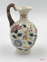 Zsolnay vagy Fischer, antik miniatür kancsó az 1800-as évek vége. Ritka, gyűjtői darab.