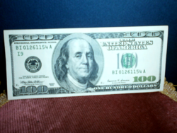 1999-ES USA 100 DOLLÁROS