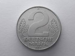 Németország 2 márka 1957 A - Német 2 Deutsche Mark érme eladó
