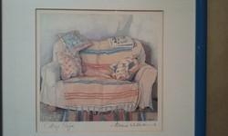 """""""Cottage Sofa"""" - akvarell"""
