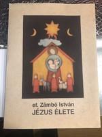 Ef Zámbó István (1950 - )'JÉZUS ÉLETE'grafikai album 17db, rajzot tartalmaz 61/100 sorszámú