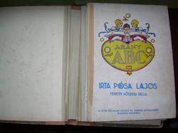 Pósa Lajos Arany ABC Kőszegi Bella rajzaival