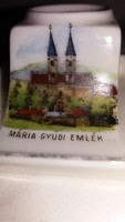 Mária Gyűdi Emlék porcelán tintatartó