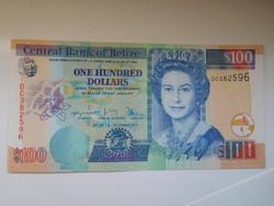 Belize 100 dollár 2017 UNC