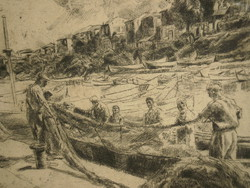 Aszódi Weil Erzsébet (1901-1976) : Bolgár halászok