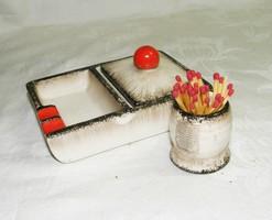 Antik Hummel dohányzó készlet TMK-1